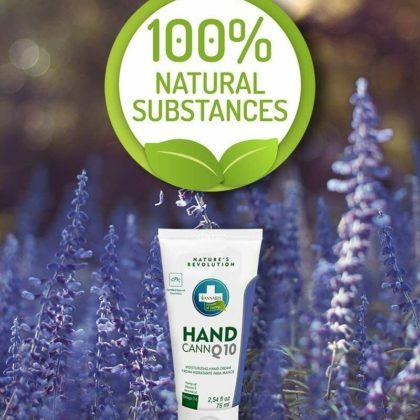 Crema de manos cann 100% natural