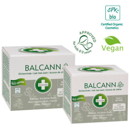 Balsamo regenerador BALCANN para pieles dañadas 2