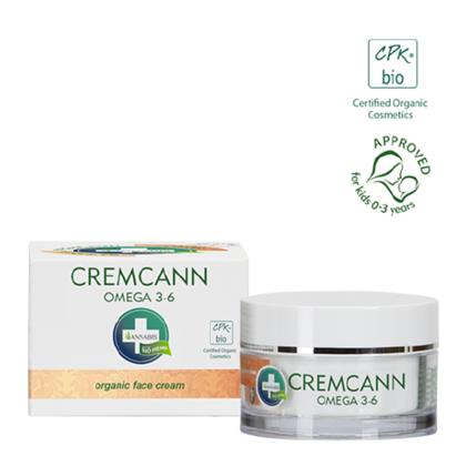 Crema facial con Omega 3-6 cremcann
