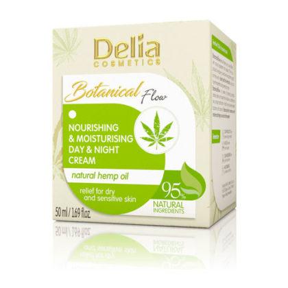 Crema Hidratante con Aceite Natural de Delia