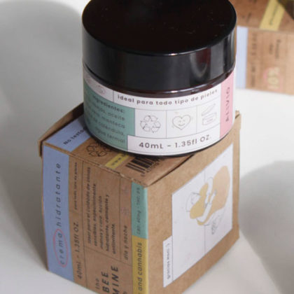 Crema Hidratante con Miel