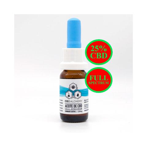 Aceite de CBD 25% Natural