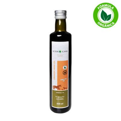 Vetercann Nutrición con aceite de cáñamo orgánico