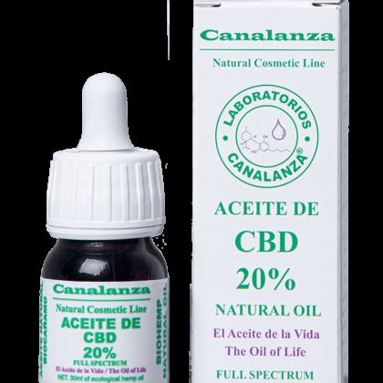 30ml Aceite cbd 20% thc canalanza