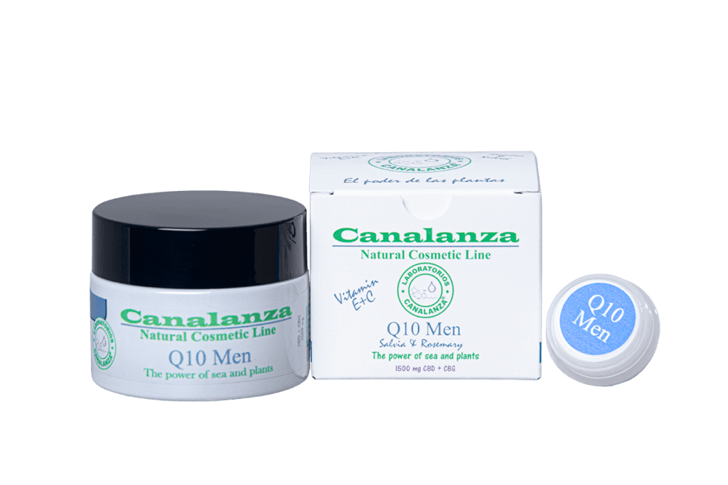 Q10 Crema Hombre CBD CANALANZA
