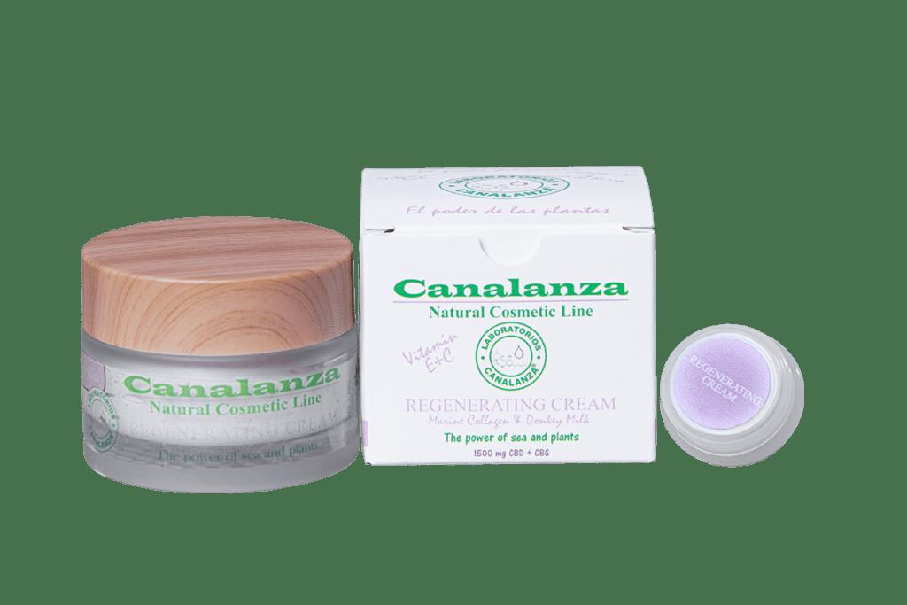 Crema Regeneradora Leche burra CBD CANALANZA