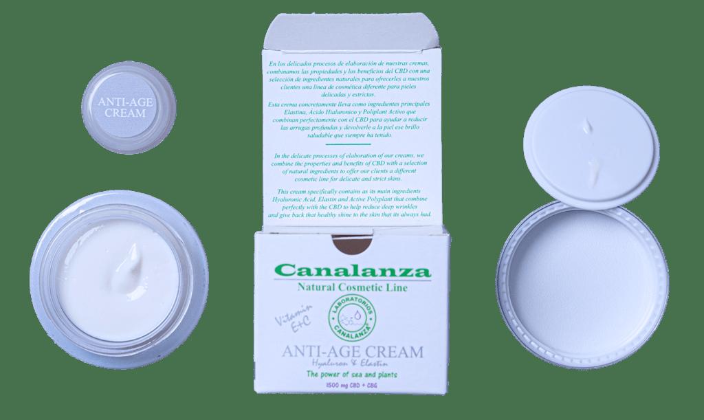 Crema CBD Anti-edad Canalanza