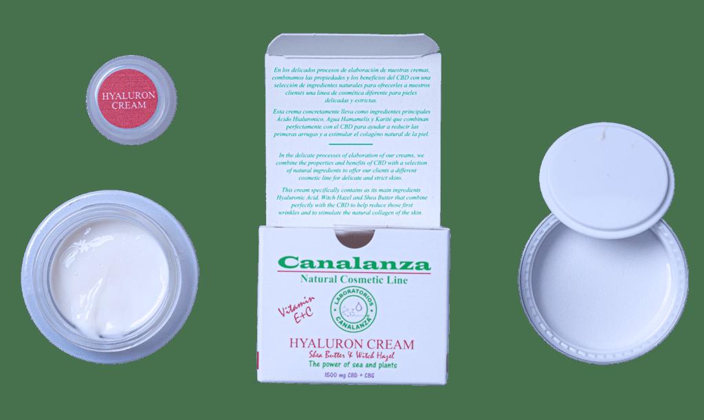 hyaluron cream canalanza
