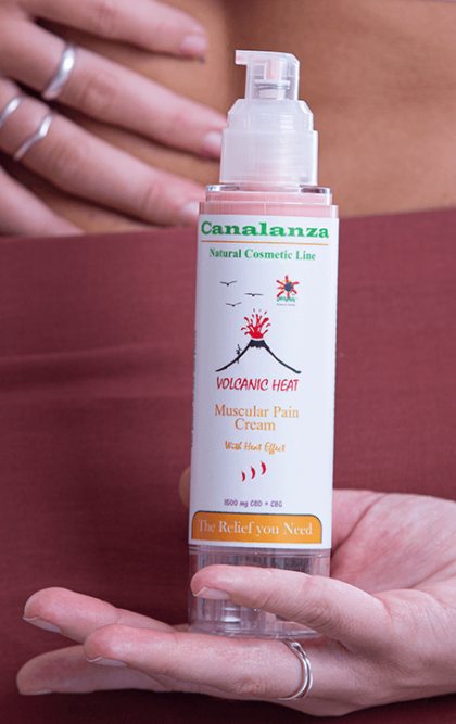 Volcan Heat crema Canalanza Cosmetic Line modelo