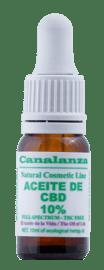 aceite cbd laboratorios canalanza 10ml 10% sin THC
